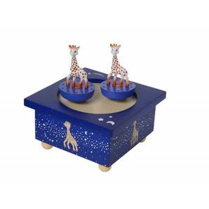 Chambrekids - Déco Boîte à musique Sophie la girafe bleue