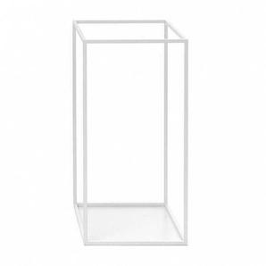 Schönbuch Rack - Porte-Parapluie carré - blanc/LxPxH 30x30x59cm