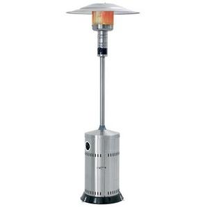 Chauffage dextérieur au gaz - parasol chauffant en acier inox PATIO