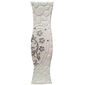 SXBISHENG Vase Decoration Design, Vase Blanc européen, Grand Vase de 60 cm du Salon Principal