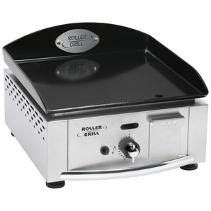 plancha gaz 2750w plaque email 5mm 39x38cm - pl400ge - roller grill
