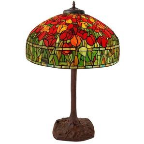 Lampe de table avec paralume en verre so cm H76,5xØ55 Artedalmondo GF20002
