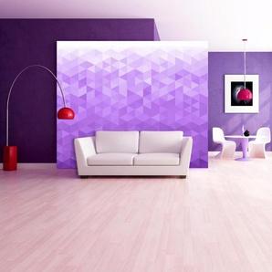 Papier peint - Violet pixel