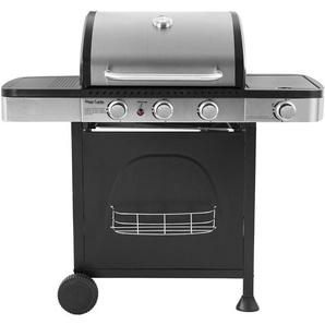 Barbecue au gaz DALLAS - 3 + 1 brûleurs avec thermomètre - HAPPY GARDEN