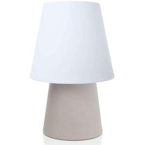 Lampe déco LED No. 1 solaire, couleur sable
