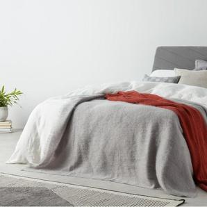 Lex, lit super king size (180 x 200) avec sommier, gris graphite