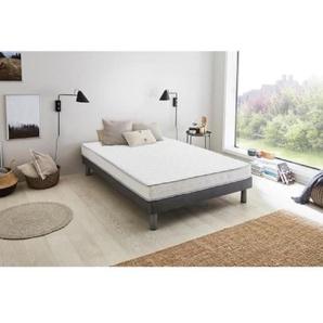 Matelas mousse mémoire de forme 160 x 200 - Confort mi-ferme et équilibré - Epaisseur 16 cm - FINLANDEK Kello
