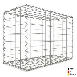 Gabion 100x70x50cm « made in Germany » - mailles carrées 10x10cm - GABIONDECO