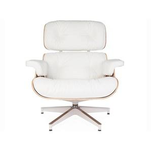 Fauteuil Lounge Eames - Noyer clair
