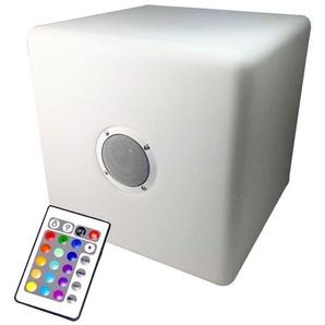 Cube Led Multicouleur HP Intégré Bluetooth 40x40 - EUROPALAMP