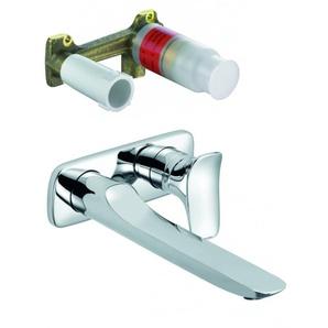 Kludi AMBA - MitIgeur lavabo encastré (532450575-set)