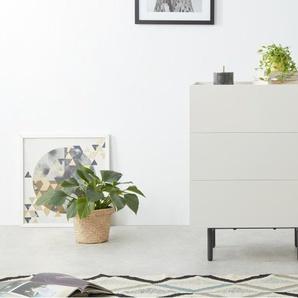 Essentials – Mino, commode, chêne et blanc ivoire