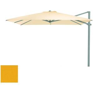 Weishäupl Parasol déporté - carré - Dolan jaune