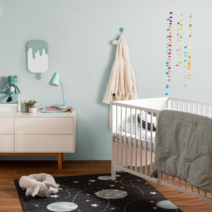 Tapis enfant Juno Multicouleur/Noir 160x230 cm - Tapis pour chambre denfants/bébé