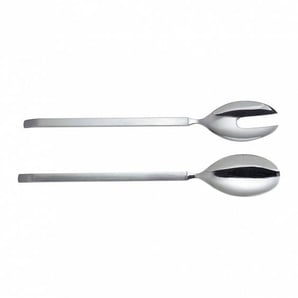 Alessi Dry - Couverts à salade - acier inoxydable