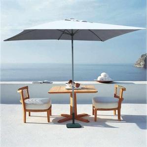 Parasol de jardin 3x2 aluminium rectangulaire mât centrale bar hôtel EDEN | sans volant - ELIOS PARASOLS