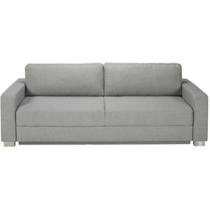 Canapé-lit 3 places gris clair Urban
