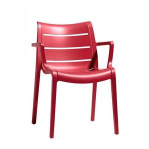 4 Chaises design de jardin - SUNSET - Lot de 4 - deco