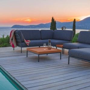Houe Canapé Level Lounge - accoudoir droit - Sunbrella-bleu