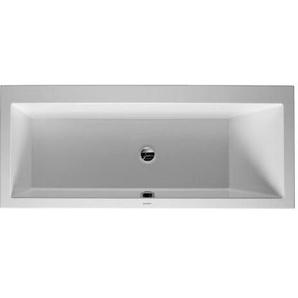 Baignoire Duravit Vero 1700 x 750 mm - avec pieds - Acrylique Blanc
