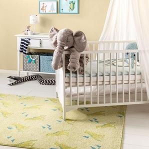 Tapis enfant Noa Kids Dino Vert 200x290 cm - Tapis pour chambre denfants/bébé