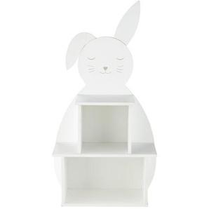 Bibliothèque enfant lapin blanc Bulle