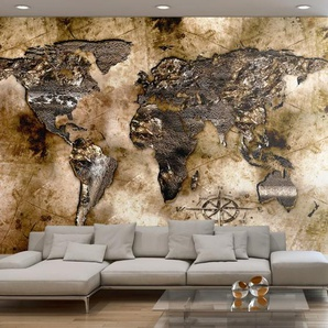 Papier peint - Old world map