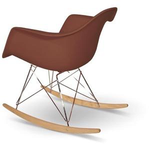 Eames Rocking Chair RAR - Marron