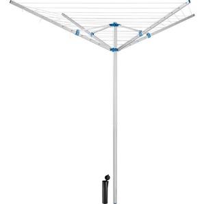 Etendoir à Linge Extérieur Parapluie Réglable en Aluminium 150 cm x 150 cm x 196 cm - TECTAKE