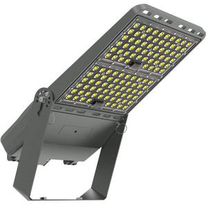 Projecteur LED Pro Asymétrique Luxeon 250W 160 lm/W Mean Well ELG Dimmable avec Support - LEDKIA