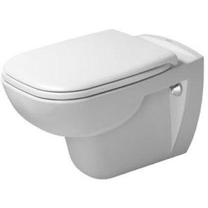 Pack WC suspendu Duravit D-Code 453519 - cuvette + abattant sans frein de chute