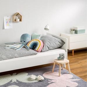 Tapis lavables pour enfants Bambini Butterflies Gris 150x225 cm - Tapis lavable pour chambre denfants/bébé