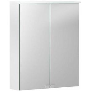 Geberit Armoire de toilette Geberit Option Basic avec éclairage, deux portes, largeur 55cm, 500258001 - 500.258.00.1