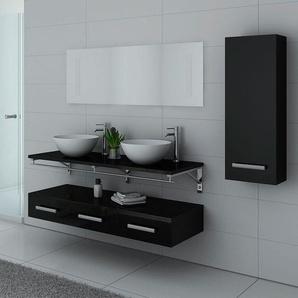 Meubles salle de bain VIRTUOSE DUO Noir