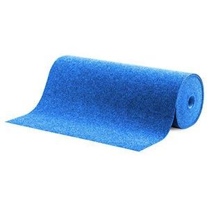 casa pura Moquette dextérieur Spring Bleu au mètre | Tapis Type Gazon Artificiel - pour Jardin, terrasse, Balcon etc. | revêtement de Sol Outdoor | 550x200cm