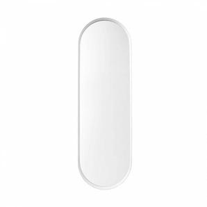 Menu Norm - Miroir mural - blanc/peint par poudrage/PxHxP 40x130x3,5cm