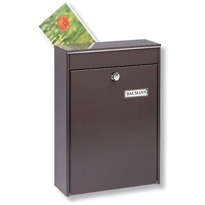 Boîte aux lettres de clôture LEIPZIG 778 marron