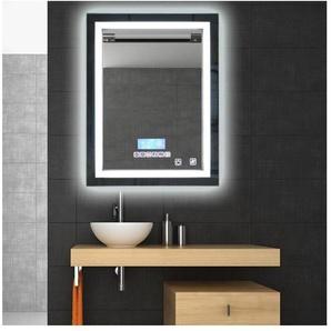 MIROIR LUMINEUX SALLE DE BAIN LED Éclairage 60x80cm 24W étanche lumière réglable - OOBEST