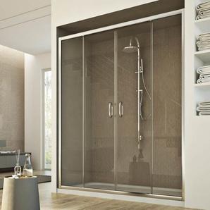 Porte Douche 150 cm 185 transparent modèle Replay 2 Portillons - IDRALITE