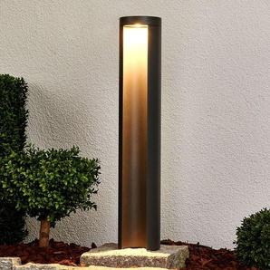 Borne lumineuse LED Jaron gris graphite