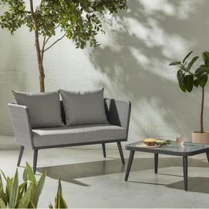 Sonora, salon de jardin, tons de gris