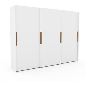Dressing - Blanc, design, armoire penderie pour chambre ou entrée, haut de gamme, avec portes coulissantes - 304 x 233 x 65 cm, modulable