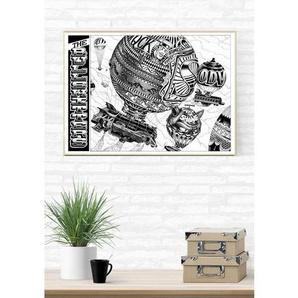Affiche Art 50x70cm - Mongol Fier par Shane