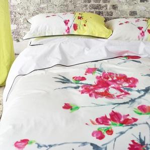 Parure de lit ORIENTAL FLOWER en satin de coton - DESIGNERS GUILD En Promo 60%