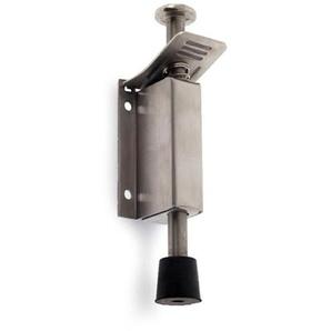 Porte à vis fabriquée par REI, en acier inoxydable, finition en acier inoxydable mat et système de pression et douverture