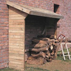 Abri à bûches en bois - 3 stères - MADEIRA