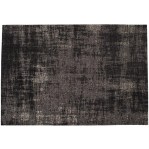 Tapis en coton noir 200 x 290 cm FEEL