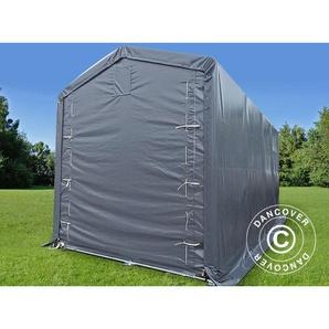 Tente de Stockage Tente Abri PRO XL Abri bateau 3,5x8x3,3x3,94m, PVC, Gris - DANCOVER