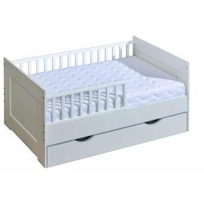 70x160 Mon premier lit Junior - Blanc