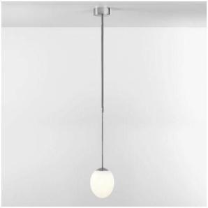 Suspension ovale Kiwi LED D13 cm IP44 - Chrome poli - Argent - Argent - ASTRO LIGHTING